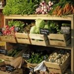 Libre service de légumes